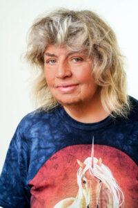Porträtaufnahme der Tierärztin Dr. Christine Berger Master of Science (M.Sc.)