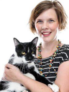 Porträtaufnahme der Tierärztin Shanti Klingspor